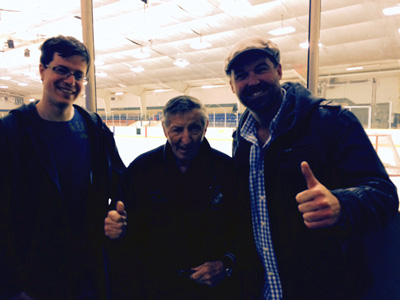 Sudbury Special Olympics, Sudbury Personal Injury Lawyers Orendorff & Associates' John Michael Bray and James Ross with Walter Gretzky